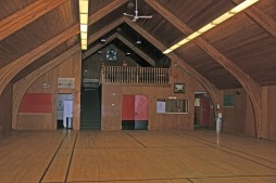 view of loft